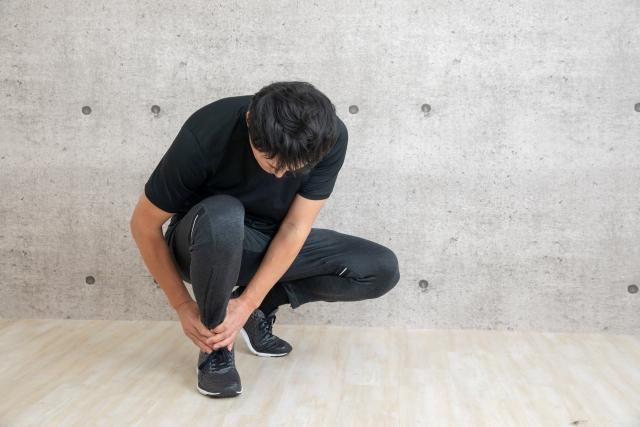 足関節の捻挫の原因は?